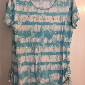 Tie Dye shirt with cute details